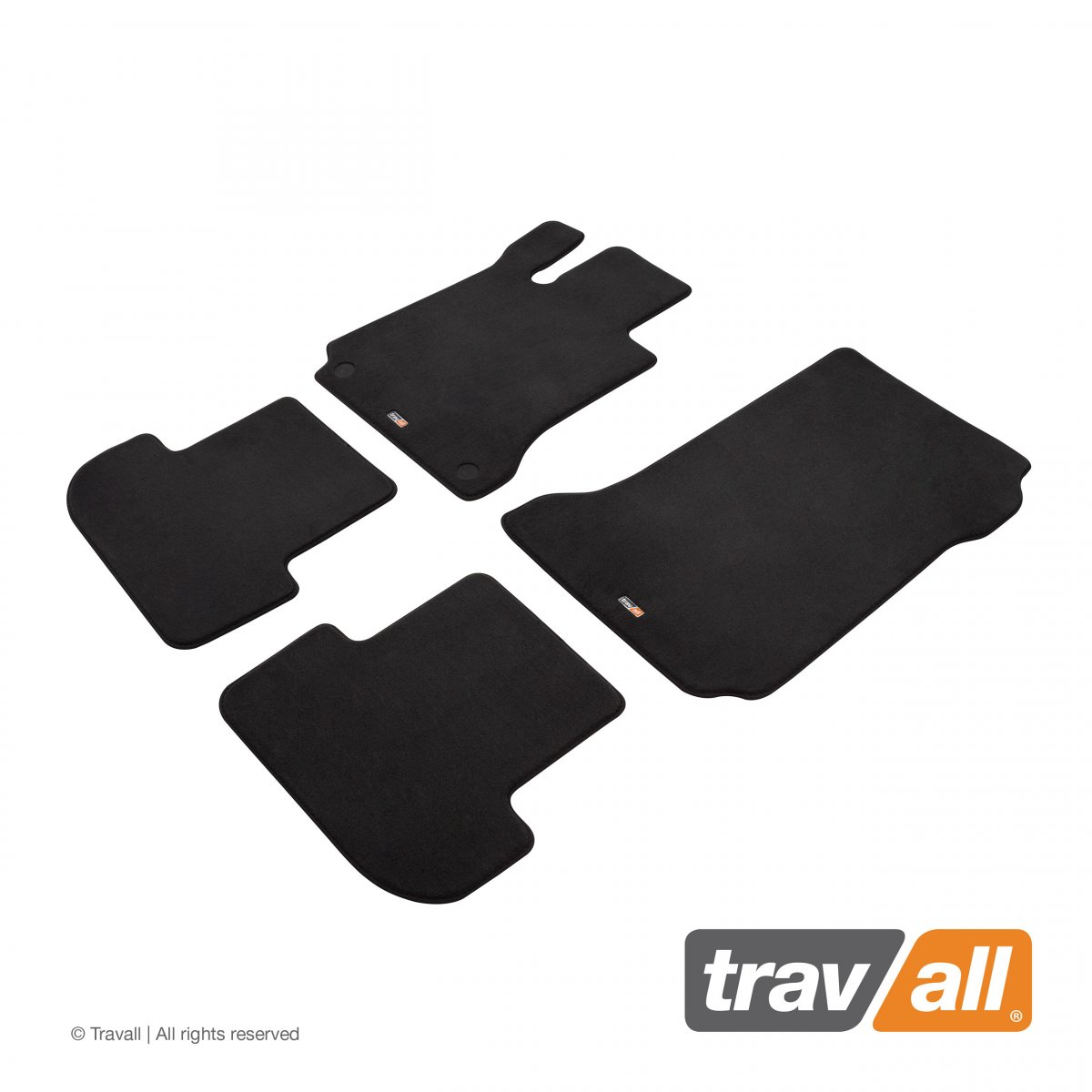 Travall® MATS [LHD] für Mercedes Benz E-Class Coupé [MANUAL] (2013 - 2017)