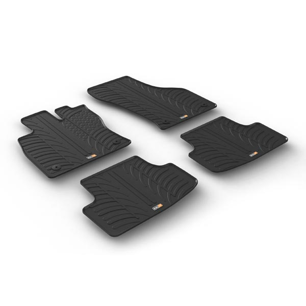 travall mats f r volkswagen golf flie heck seat leon 5. Black Bedroom Furniture Sets. Home Design Ideas